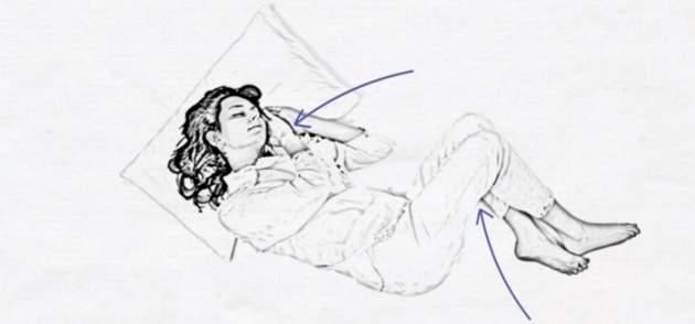 Poloha spánku