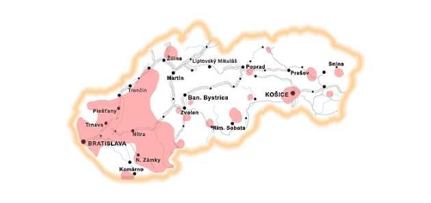Encefalitída na Slovensku