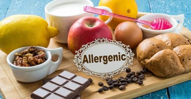 Potravinové alergény