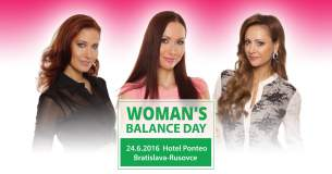 Vyhodnotenie súťaže o vstupenku na Woman's Balance Day – deň za odmenu pre každú ženu