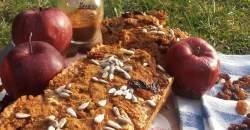 Rýchly a zdravý, taký je jablkový chlebík