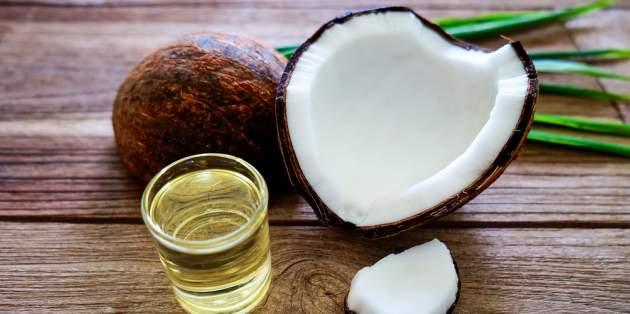 Kokos a olej