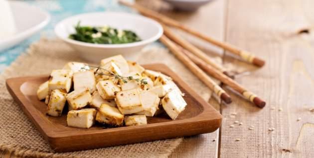 Opražené tofu