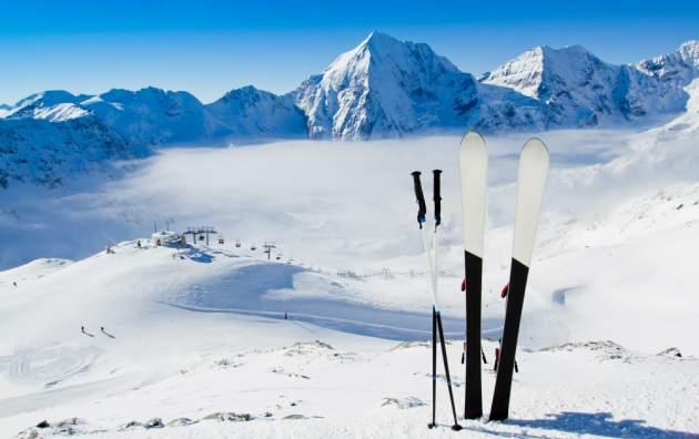 Zima a lyže