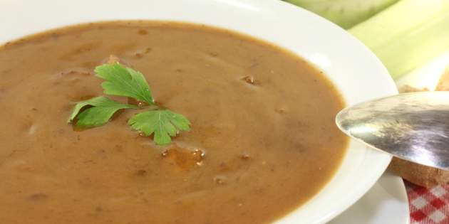 Batátovo – póriková polievka