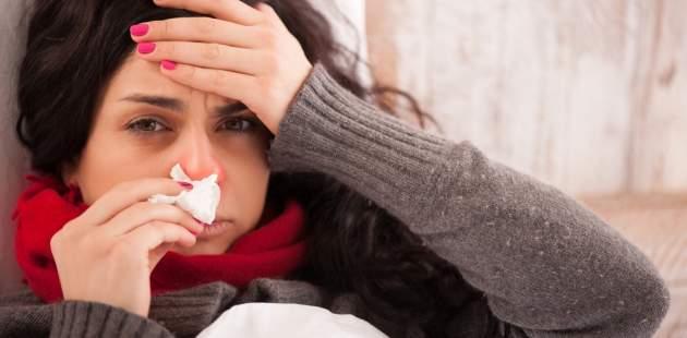 Chorá žena
