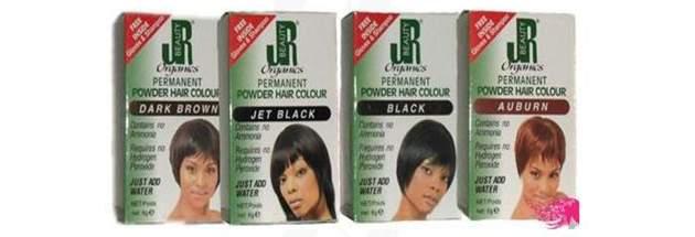 Organics Permanent Powder Hair Colour hair