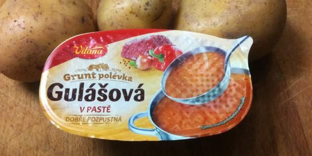 Grunt Gulášová polievka