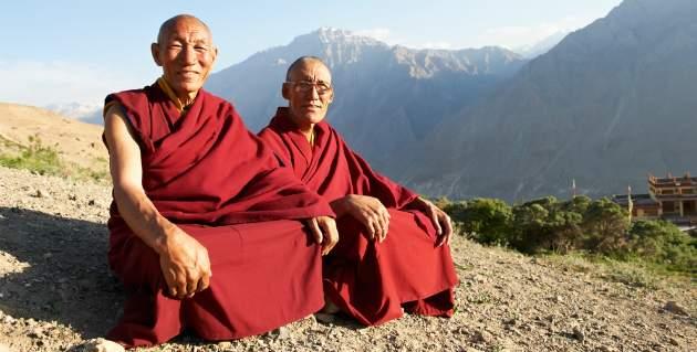 rady od tibetských mníchov