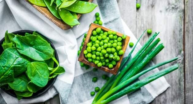 zelenina na tvorbu svalov