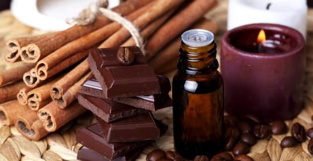 Čokoláda, škorica