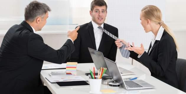 Konflik v práci
