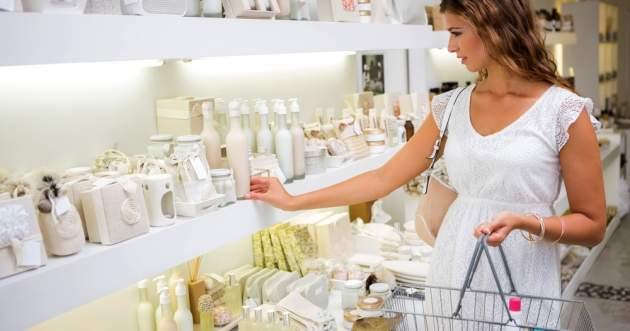 Kozmetika v obchode