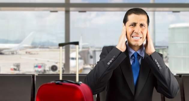 bolesť ucha pri cestovaní lietadlom