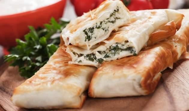 Turecký syrový koláč