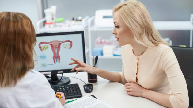 Žena u gynekológa