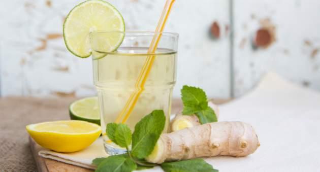 Domáca zázvorová limonáda