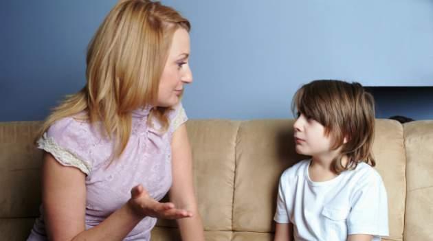 Rozhovor matky so synom