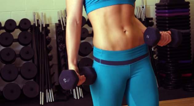 Posilňovanie svalov brucha