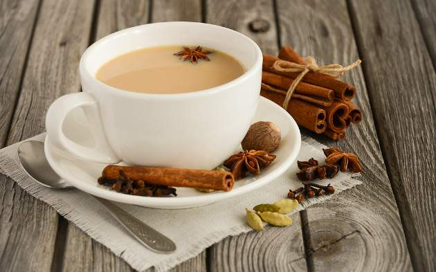 Škoricový čaj