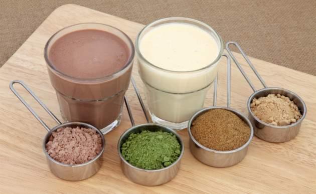 Práškový proteín