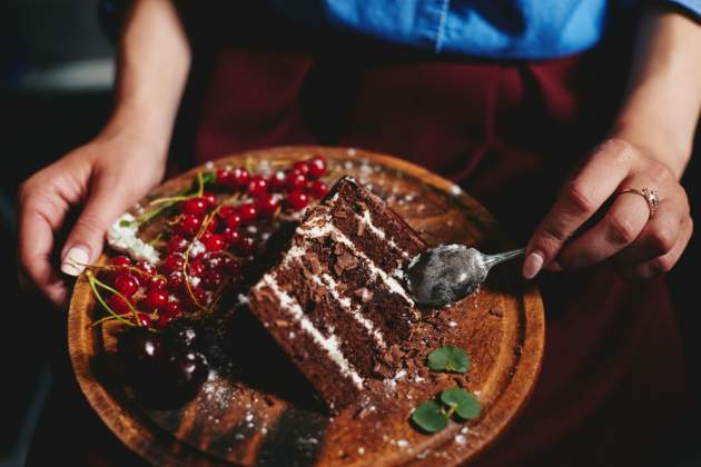 Čokoládová torta