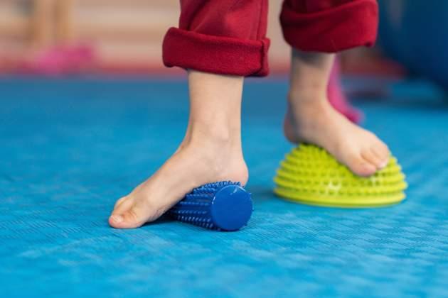 Cvičenie pre ploché nohy