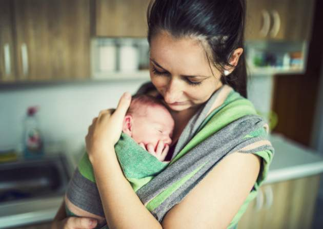 Mama s bábätkom