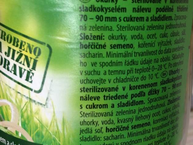 Tesco uhorky 1