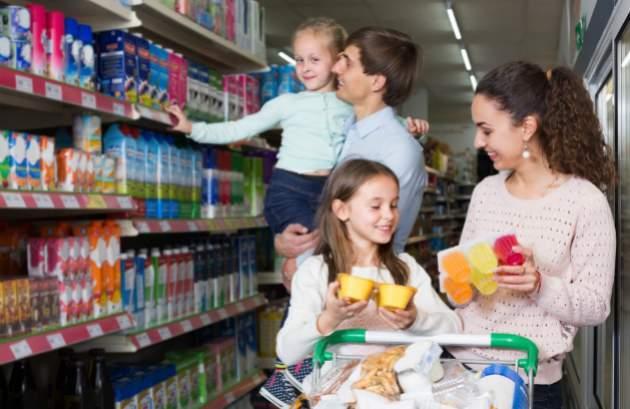 Jogurty a mliečne výrobky