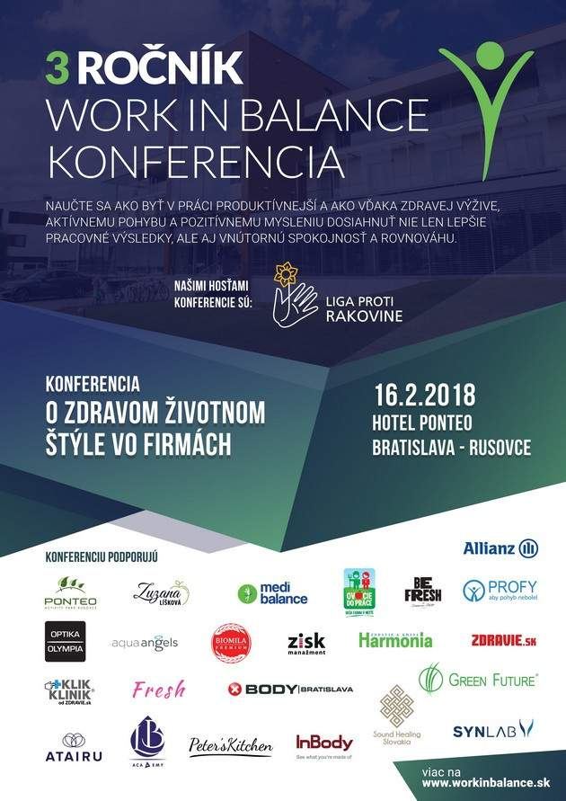 Konferencia WORK IN BALANCE