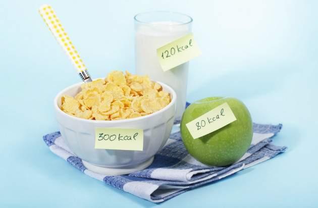 Príjem kalórii