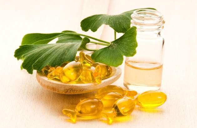 Ginko biloba a prírodné oleje