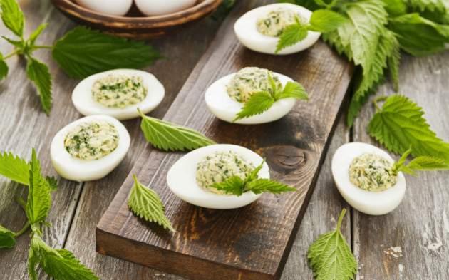 Vajíčka s pŕhľavou