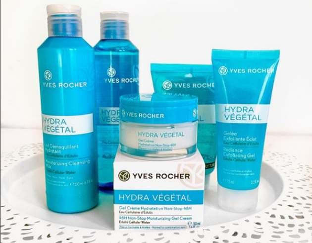Kozmetika Hydra Végétal od Yves Rocher