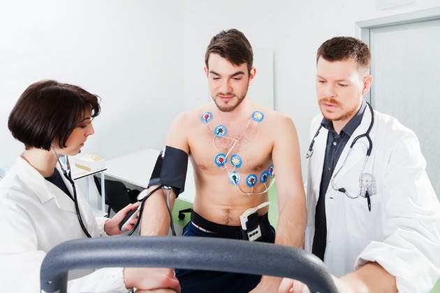Vyšetrenie srdca u športovcov