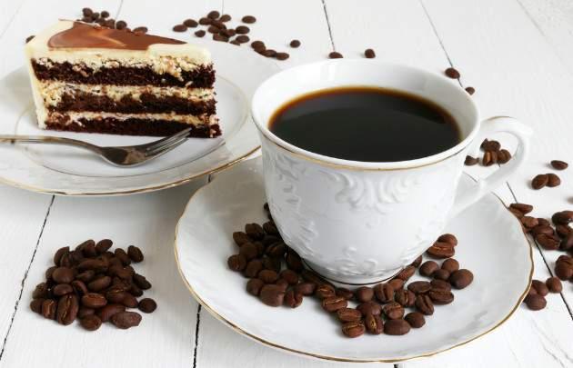 Kávové rezy