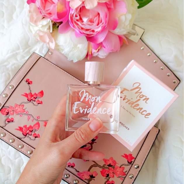 nová vôňa Mon Evidence od Yves Rocher