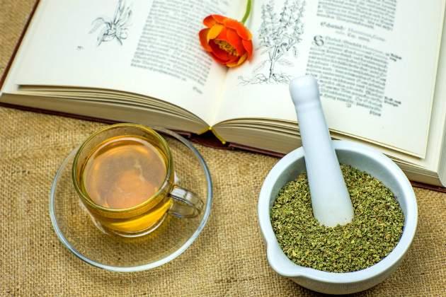 Učenie a bylinky