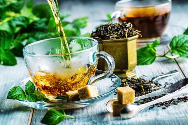 zlatý čaj