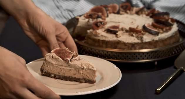 Gaštanovo-likérový cheesecake