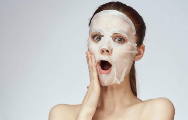 Látková hydratačná maska na tvár