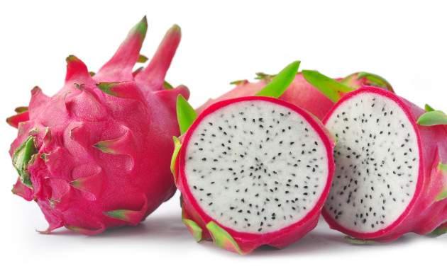 Tropické ovocie Pitahaya alebo dračie ovocie