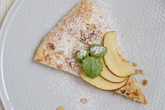 Fotorecept: krehký jablkový koláč