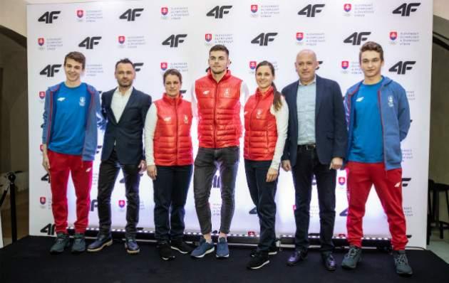 Športové oblečenie 4F pre olympionikov