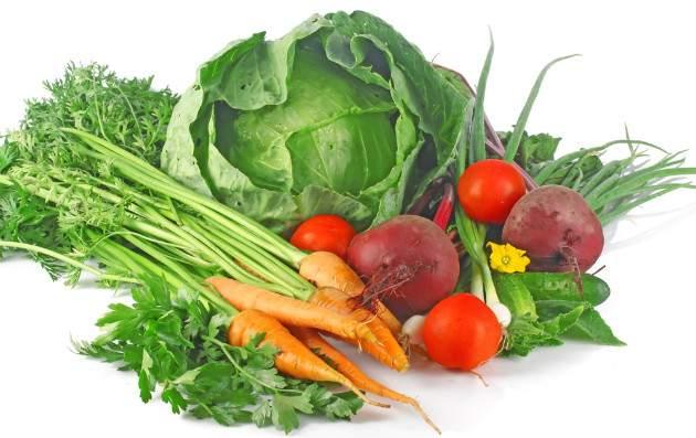 Zelenina na pečeň