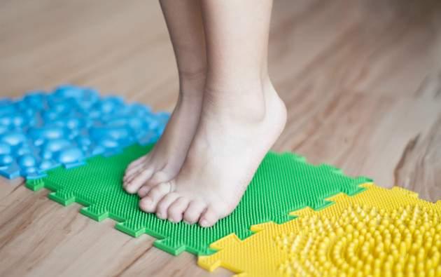 Cvičenia na ploché nohy