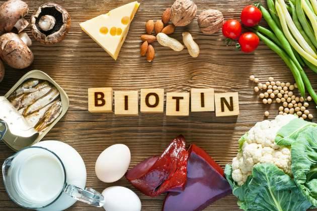 Biotín v strave