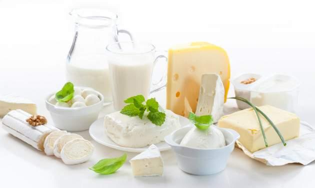 Tuk v mliečnych výrobkoch