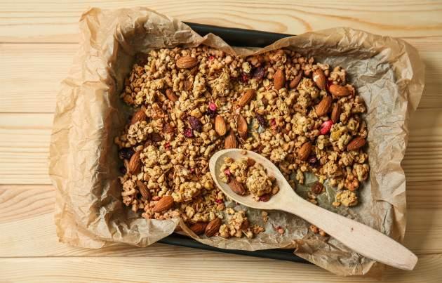 Pečenie granoly